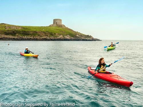 Kayaking - Dalkey Island