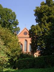 Am Kloster Lehnin, Brandenburg ... (bayernernst) Tags: park deutschland kirche september brandenburg klosterkirche 2013 lehnin klosterlehnin 07092013 snc17045