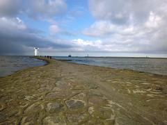 WP_005205+ (_muscaria_) Tags: winter sea clouds pier cloudy poland windy balticsea baltic northsea breakwater bulwark swinoujscie świnoujście stawamłyny