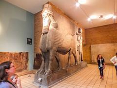 Winged Human-Headed Lion (- Ozymandias -) Tags: greatbritain england london museum unitedkingdom britain gb assyria assyrian μουσείο λονδίνο αγγλία μεγάληβρετανία βρετανικόμουσείο ασσυρία ασσυριακό