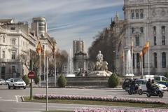Plaza Cibeles (Benito Moreno) Tags: madrid plaza centro cibeles diosa