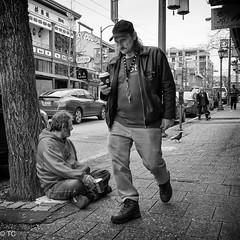Street Fusion (Terry Cioni) Tags: vancouver chinatown fuji streetphotography tc fujix70