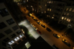 75/366 - Back to the roof... (Sinuh Bravo Photography) Tags: canon miniature nightshot fromabove autos tiltshift ayearinphotos eos550d potd2016