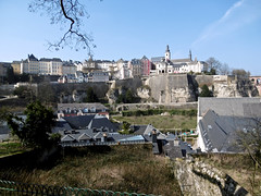 Luxembourg City from Rham (tame_alien) Tags: building landscape luxembourg grund luxembourgcity