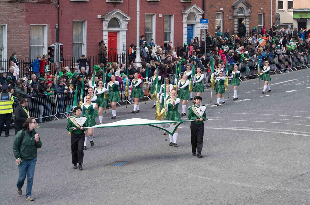 John F. Kennedy High School (Shamrock Regiment), California [St. Patrick's Parade 2016]-112639