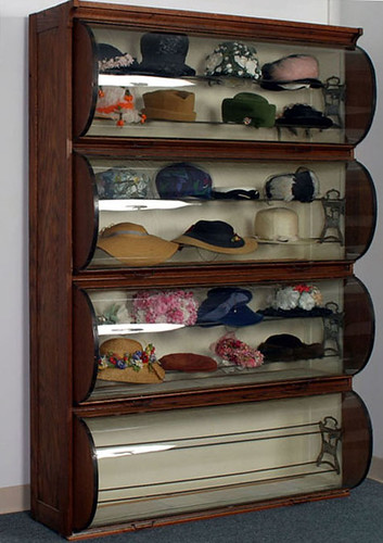 1903 Rare Country Store Hat Display Cabinet - $1980.00 (Sold October 2, 2015)