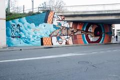 """""""Sur la Piste des Gants"""" avec Sismikazot et Rso-Mond (lyli12) Tags: street streetart france art graffiti nikon peinture graff toulouse rue graffeur artmural mjc fresque artiste rso hautegaronne midipyrnes d7000 loicmond"""