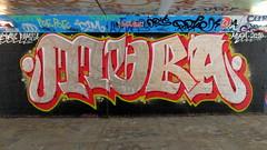 Graffiti Overschie (oerendhard1) Tags: urban streetart art underpass graffiti rotterdam overschie mura zetas tunneltje