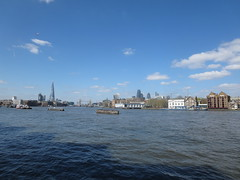 Thames view from Rotherhithe (upriver) (John Steedman) Tags: uk greatbritain england london thames river unitedkingdom rotherhithe themse grossbritannien     grandebretagne    thamise