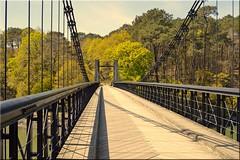 Vieux Pont Le Bono (breizhphotographer) Tags: bridge sea panorama mer seascape france landscape mar seaside brittany meer mare riviere bretagne paisaje zee du paisagem breizh le bono maritime pont landschaft morbihan 1840 56 paesaggio landschap golfe suspendu