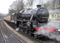 45428  Stanier Class 5 4-6-0 Eric Treacy (Keith B Pics) Tags: lms 460 grosmont nymr northyorkshiremoorsrailway stanier black5 45428 erictreacy