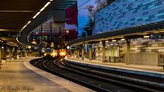 NMBS AR 4192  Antwerpen-Centraal (Tren di Cdrico) Tags: station night train ic belgium diesel gare nacht perron belgi railway antwerp alstom antwerpen trein intercity bombardier koepel nmbs staal sncb overkapping reizigers ar41