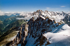 Chamonix Valley (Robert J Heath) Tags: panorama snow france alps scenery rocks scenic rocky vista frenchalps