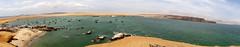 Bahia de pescadores (JuanEsOc) Tags: sea panorama mar desert panoramic panoramica bahia desierto pescado ceviche paracas pescadores seviche
