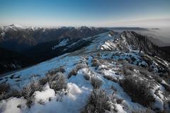 -36 (billlushana1) Tags: sunset mountain snow rock canon landscape outdoor sony taiwan  peaks  taroko hualien  tarokonationalpark  superwide hehuanshan  ef1740mmf4lusm  mountain 14 100peaksoftaiwan taiwantop100peaks qilaishan sonya7r