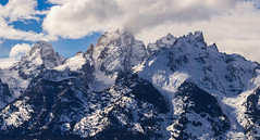 Peaks of the Tetons (skiserge1) Tags: park winter sky people white mountain snow ski cold nature sport landscape snowboarding outdoors day skiing hole outdoor hiking background country extreme lifestyle grand powder jackson fresh adventure national snowboard backcountry recreation wyoming teton telemark range skier snowmobile targhee