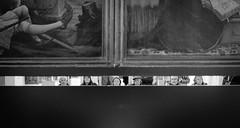 #series: examination - Betrachtung (macplatti) Tags: street urban france monument museum candid kunst exhibition colmar alsace architektur visitors herzogdemeuron fra ausstellung gotik geschichte malerei examination betrachtung unterlinden museeunterlinden fujixf35mm fujixt10 richardduplat