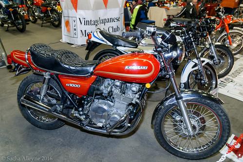 MCN Scottish Motorcycle Show 2016 - Kawasaki Kz 1000