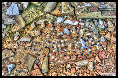 Ground (Fisheye Creation) Tags: colors brittany mosaic bretagne mosaique hdr lorient bracketing