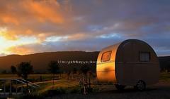 fox glacier sunset, tonight (rina sjardin-thompson photography) Tags: travel light sunset newzealand rural landscape nz foxglacier southisland caravan westcoast westland southwestland rinasjardinthompson