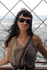 Natali Antonovich (Natali Antonovich) Tags: portrait paris france tower eiffeltower lifestyle eiffel familyarchive fromfamilyalbum nataliantonovich wingedparis