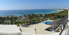 Alion Beach Hotel views (Serghei Zadorojnai) Tags: sea hotel balcony cyprus 2012 panoram ayianapa 201204 20120402 alionbeach
