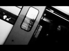 (blazedelacroix) Tags: street blackandwhite station train lumix stockholm g1 departure trefoiled blazedelacroix