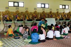 Schooling at monastery, Kalaw (Michael Chow (HK)) Tags: burma myanmar mm shan kalaw myanmarburma