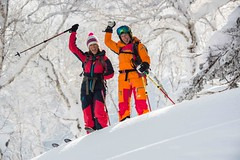 Furano ski resort 2016 (Furano Tourism Association in Hokkaido, Japan) Tags: snow ski japan belt women hokkaido prince off powder downhill resort alpine backcountry skier touring furano piste gully vanthoff skiphotography kitanomine carolinevanthoffphotography