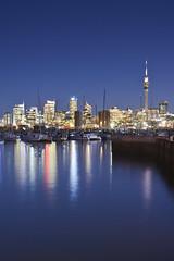 Auckland Skyline (1Nine8Four) Tags: longexposure newzealand nikon auckland nz northisland nightshots 18200mm nikondx 18200mmvr nikon18200mmvr d7100 nikon18200mmf3556vr nikond7100