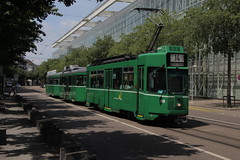489 (KennyKanal) Tags: tram basel ag grn schindler waggon bvb pratteln basler cornichon verkehrsbetriebe schienenfahrzeug drmmli