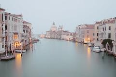 Canal Grande (mkniebes) Tags: longexposure travel italien venice italy water pastel silk venezia venedig santamariadellasalute canalgrande pontedell'accademia fujinonxf23mm