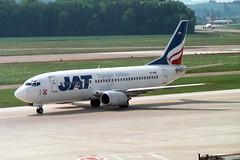 JAT Airways Boeing 737-3H9 YU-ANF (Kambui) Tags: airplane airplanes zrich aviones avions kloten zrh flugzeuge  avies aeroplani kambui