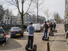 P4090022 (veneman) Tags: amsterdam canal spring tourists segway keizersgracht omd em10