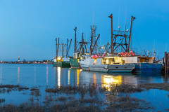 All in a day's work (Jason Gambone) Tags: sunset sky reflection night canon stars boats photography bay newjersey fishing photographer dusk framedart nj wallart nightsky fishingboats barnegat atlanticocean fishingpier barnegatlight vikingvillage fishingdock ocedan canon6d jasongambone jasongambonecom