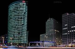 Potsdamer Platz (Oliver H16) Tags: berlin deutschland abend nikon nacht hauptstadt bahnhof potsdamerplatz deutschebahn lichter nachtaufnahmen d7000