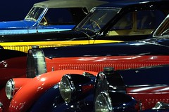Les couleurs de Bugatti - Bugatti's colors (Olivier Simard Photographie) Tags: blue red sculpture black art colors car sport yellow museum jaune rouge design coach automobile paint body couleurs wing engine muse line peinture bleu calender alsace hood motor headlight bugatti radiator phare capot ligne cabriolet aile mulhouse noire moteur radiateur molsheim atalante calandre aestheticism carrosserie type101 esthetism nikond90 ettorebugatti citdelautomobile collectionschlumpf palettedecouleurs legendarycars esthtisme type50 llva voituresdelgende jeanbugatti photographieoliviersimard automobilecity bugattitype57coach1935