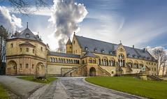 Kaiserpfalz Goslar-2 (dietmar-schwanitz) Tags: sky building clouds germany deutschland himmel wolken architektur imperialpalace gebude harz kaiserpfalz goslar lightroom niedersachsen lowersaxony medievalarchitecture mittelalterlichearchitektur dietmarschwanitz nikond750 nikonafsnikkor24120mmf40ged