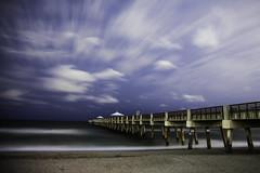 Stealth Cloud Cover (dans eye) Tags: beach stars star pier flickr florida midnight fl starrynights junobeachpier starstudies