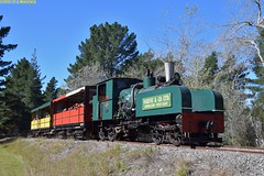 DS_Train_12_McLeansIsland_10April2016 (nzsteam) Tags: price train island traction engine railway scene steam engines locomotive boiler boilers mcleans sawmilling