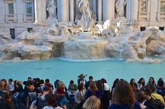 Trevi Fountain (Joe Shlabotnik) Tags: italy rome roma fountain italia trevifountain faved 2016 afsdxvrzoomnikkor18105mmf3556ged march2016