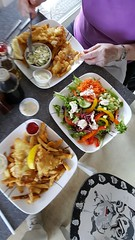 Village Chippery family restaurant (wjis21) Tags: food bicycle restaurant walk hike shawniganlake tct kinsoltrestle kinsol transcanadatrail chippery johnoldfield villagechippery