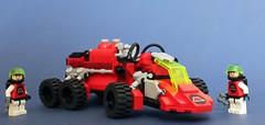 M-Tron Celestial Tanker (Brizzasbricks) Tags: classic lego space rover tanker celestial forager moc classicspace mtron