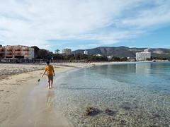 Letting go (Paranoid from suffolk) Tags: sea beach spain sand mediterranean mallorca majorca magaluf palmanova 2016 balearics magalluf
