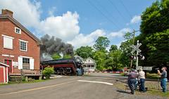 NW.DelaplaneVA060615.7328 (jrm_rr) Tags: virginia engine steam va locomotive steamengine 611 norfolkwestern delaplane 484 crossinggate crossingsignal railfans nw611