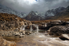 Isle of  Skye, Fairy Pools (alex west1) Tags: sky mountains skye landscape islands scotland highlands magic fairy pools isle fairypools