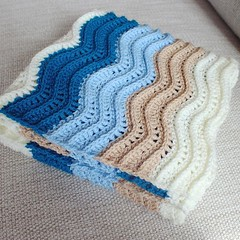 Loved doing this wave pattern... (Strawberry Latte) Tags: handmade crochet etsy crocheted crochetblanket handmadeblanket crochetbaby handmadebaby crochetlove uploaded:by=flickstagram crochetersofinstagram instagram:photo=1226993176716607295391400350