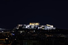 A room with a view (dkoukou) Tags: city night long exposure cityscape sony tripod athens telephoto acropolis a7r fe70200