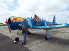 Pre-Flight Check - Thunder Air Show (EX22218) Tags: vintage kentucky planes mostinteresting louisville nwn thunderoverlouisville 2016 fiveprime vintagewarbirds thunderairshow
