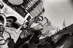 AA002 (heavyasmountains) Tags: nyc newyorkcity blackandwhite slr film 35mm photography nikon candid streetphotography noflash 24mm fm3a filmphotography streetstyle